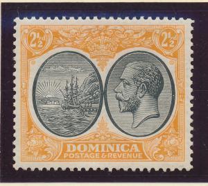 Dominica Stamp Scott #71, Mint Hinged - Free U.S. Shipping, Free Worldwide Sh...