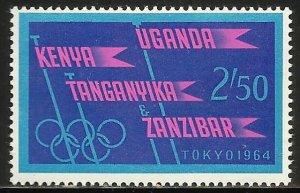 Kenya, Uganda & Tanzania 1964 Scott# 147 MNH