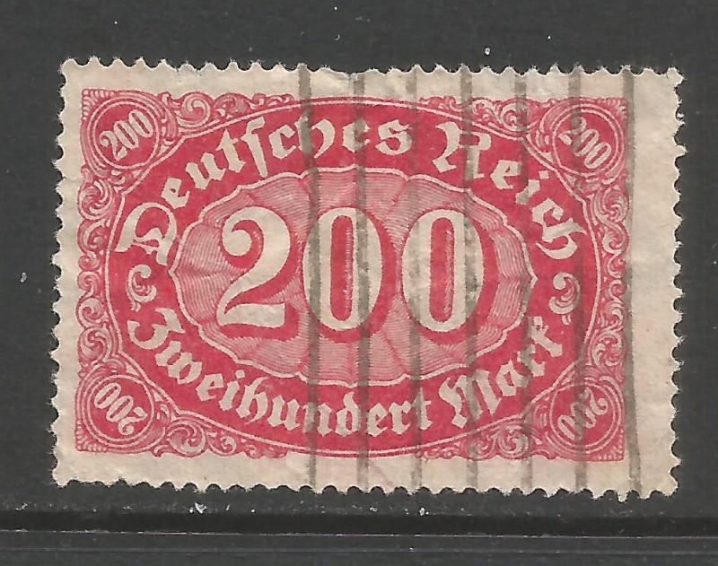GERMANY 200 VFU S276
