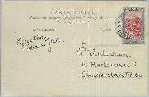 81178 - MADAGASCAR - POSTAL HISTORY single stamp on POSTCARD from ANIVORAN 1926