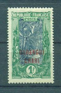 Ubangi-Shari sc# 38 mh cat value $10.50