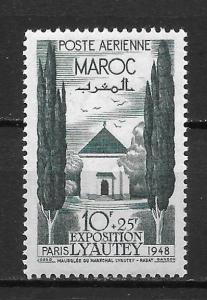 French Morocco CB28 1946 Solidarity single NH
