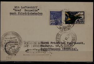 Brazil Zeppelin card 1.6.34