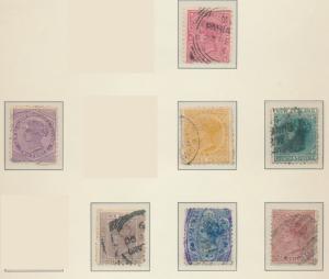 New Zealand Stamps Scott #61 To 67, Used - Free U.S. Shipping, Free Worldwide...