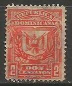Dominican Republic 89 VFU ARMS W097-3
