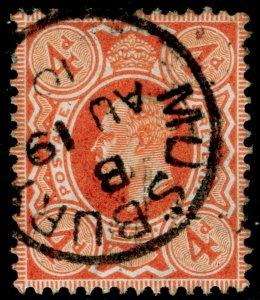 SG241 SPEC M25(3), 4d orange-red, FINE USED, CDS. Cat £15.