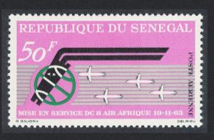 Senegal 1st Anniversary of 'Air Afrique' and 'DC-8' Service Inauguration 1963