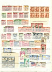 COOK ISLANDS; SAMOA early 1930s-60s Accumulation fine Mint & used LOT