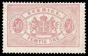 SWEDEN O10  Mint (ID # 95567)