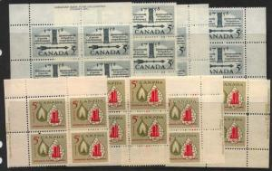 Canada - 1958 Oil Industry & First Elected Assembly Blocks