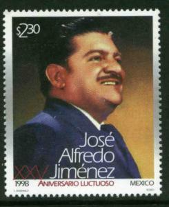 MEXICO 2103, Jose Alfredo Jimenez, musician & comp. MINT, NH. VF. (69)