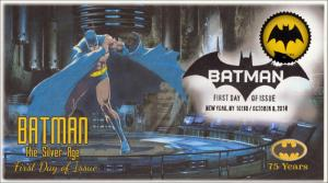 SC 4930, 2014, Batman, Bat Signal, Pictorial Postmark, FDC, 75th Anniversary