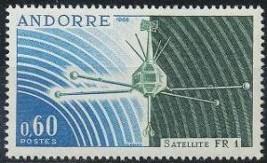 Andorra - French Issues 171 MNH (1966)