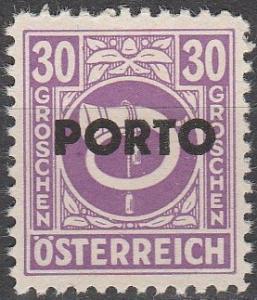 Austria #J198 MNH