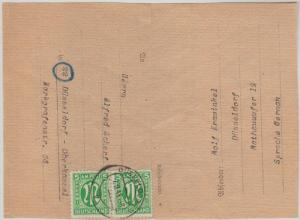 Card:Dusseldorf US printing Pair.7.9.1945