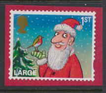 GB SG 3419  SC# 3119e Christmas 2012  1st Class  Large Used on piece