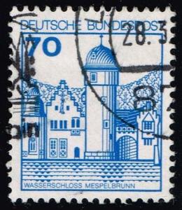 Germany #1238 Mespelbrunn Castle; Used (0.25)