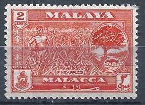 Malaya - Malacca -Meleka - SC#57 - MLH - SCV$0.25