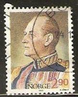 Norway Used Sc # 930 - King Olav V