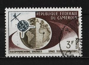 Cameroon 1963 1st TV connection from US to Europe 3F (1/4) USED