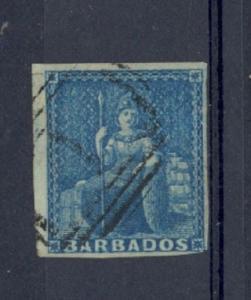 Barbados Scott 6 Used (Catalog Value $70.00)