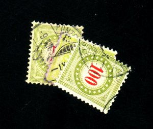 Switzerladn #J23a J24a J27a Used F-VF Cat $191