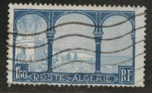 ALGERIA Scott 62 used 1.50fr 1927 stamp