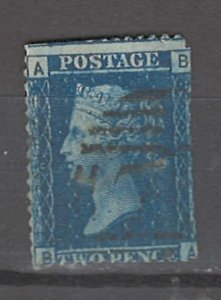 COLLECTION LOT # 3258 GB #29plate9 FAULTY 1858 CV=$12.50