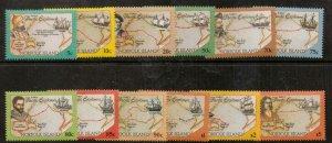 NORFOLK ISLAND SG562/73 1994 PACIFIC EXPLORERS MNH
