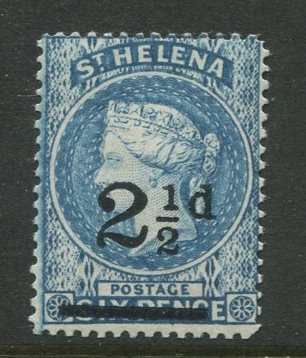St.Helena - Scott 47 - QV Overprint -1893 - MNH - Single 2.1/2p on a 6p Stamp