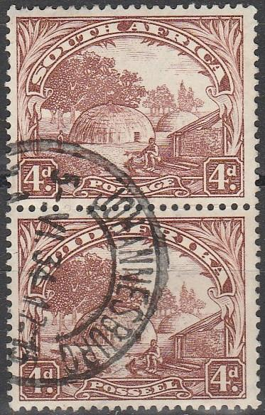South Africa #40 F-VF Used  CV $210.00 (A2971)
