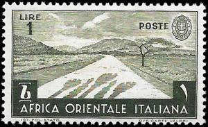 ITALIAN EAST AFRICA  SC# 12  - UNUSED - NICE ALBUM SPACE FILLER