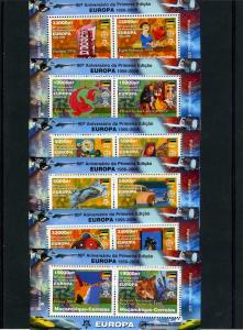 Mozambique 2006 CONCORDE Europa 50th.Anniversary X 6 Sheets Perforated mnh.vf