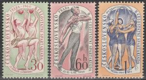 Czechoslovakia #958-60  MNH  (K607)