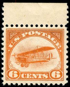 momen: US Stamps #C1 Mint OG NH VF
