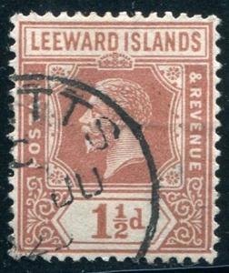 Leeward Islands Sc#66 Used (Li)