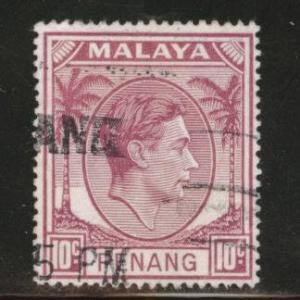 MALAYA Penang Scott 11 used 1949-52