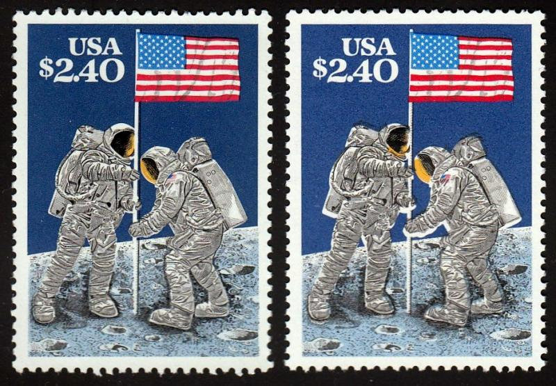 U.S. #2419 X/F Major Color Shift! MNH Please see Description Before Bidding.
