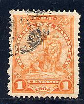 Paraguay Scott # 91, used