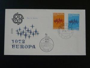 Europa Cept 1972 FDC San Marino 82804