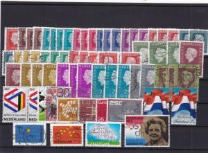 netherlands used  stamps ref 10397