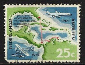 Netherlands Antilles 1964 Scott# 287 Used (corner)