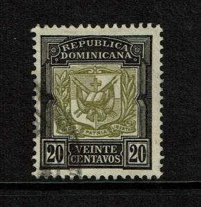 Dominican Republic SC# 136 Used / Hinge Rem - S7557