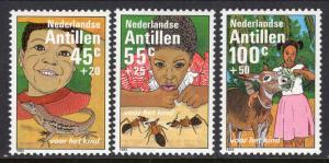 Netherlands Antilles B209-B211 MNH VF
