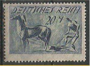 GERMANY, 1921, MNH 20m, Plowing Scott 155