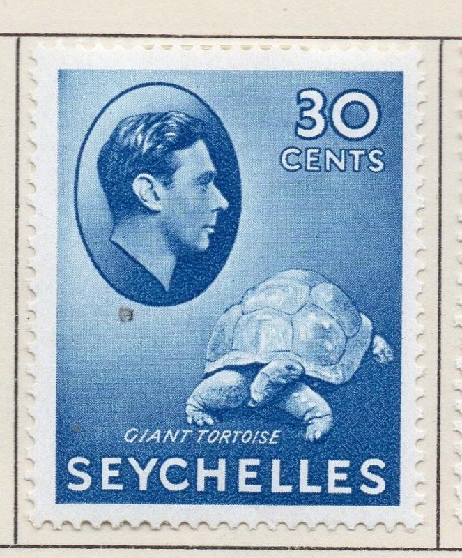 Seychelles 1938-49 Early Issue Fine Mint Hinged 30c. 205525
