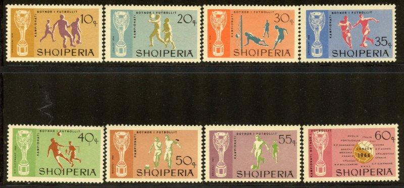Albania #945-52, Mint No Gum. CV $ 6.00