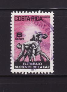 Costa Rica 323 U Labor Monument