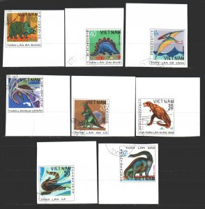 Vietnam. 1979. 1007u-14u. Dinosaurs. USED.