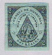 Honduras 1 MLH Coat of arms 1865 (BP3083)